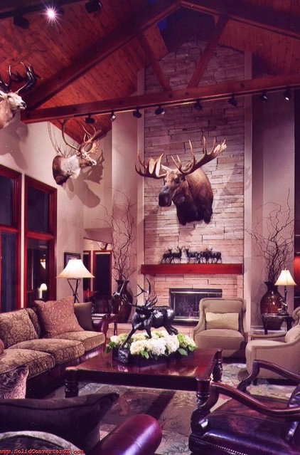Traditional Living Room by Evergreen Dwellings