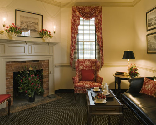 SaveEmail. Colonial Williamsburg Foundation - Colonial Living Room Houzz