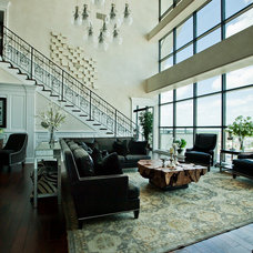 Modern Living Room by Furnitureland South