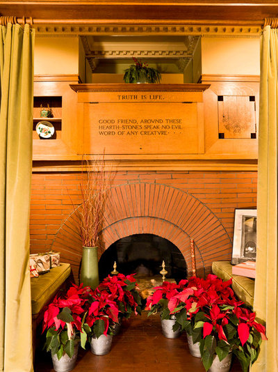 Traditional Living Room Experience the Holidays at Frank Lloyd Wright's Home and Studio