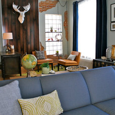 Eclectic Living Room by Paul Hanson Design
