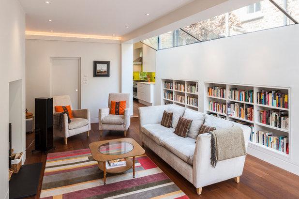 Contemporary Living Room by Jones Associates Architects