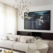 Contemporary Living Room by West Chin Architects & Interior Designers
