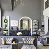 See How a Designer Tackles XXL Proportions in a Living Room