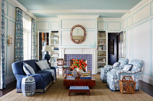 Beach Style Living Room By Andrew Howard Interior Design