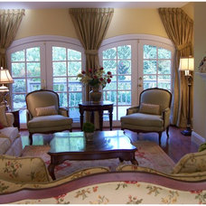 Traditional Living Room by Dale Minske Interior Design and Decoration