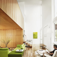 modern living room by Webber + Studio, Architects