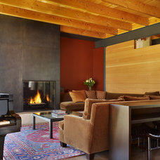 Modern Living Room by DeForest Architects