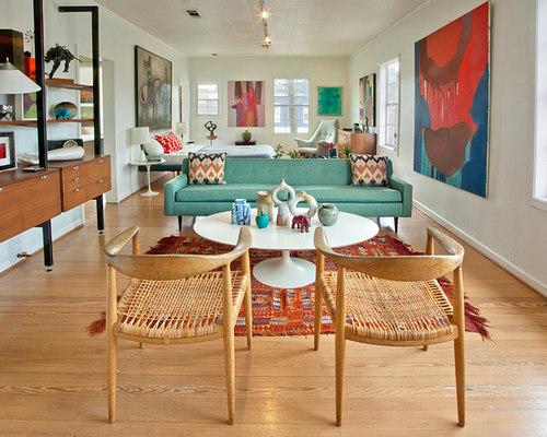 midcentury modern living room   houzz