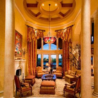 Новый формат декора квартиры: гостиная комната в классическом стиле