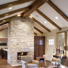 Traditional Living Room by ROTHERS Design/Build