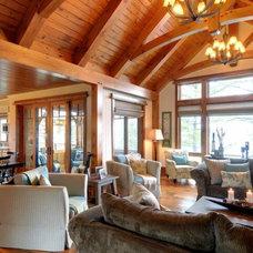 Rustic Living Room by Urban Rustic Living