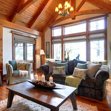Rustic Living Room by Urban Rustic Living