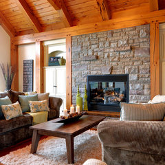 traditional living room by Urban Rustic Living