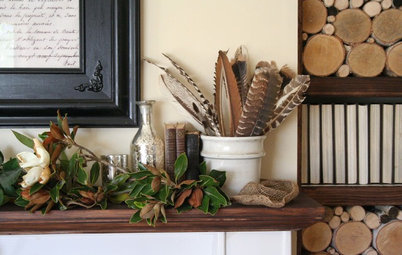 Dress Up Your Mantel for Fall and Thanksgiving