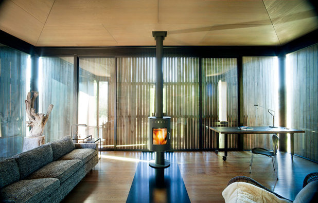 Modern Living Room by Olson Kundig