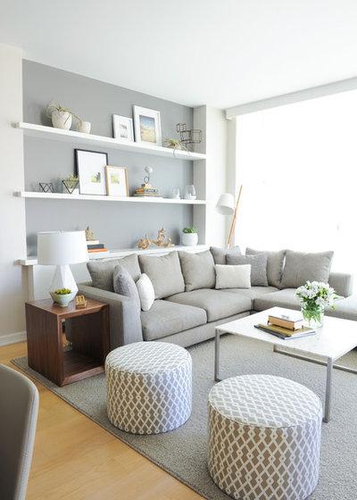 Skandinavisch Wohnbereich by SHIFT Interiors