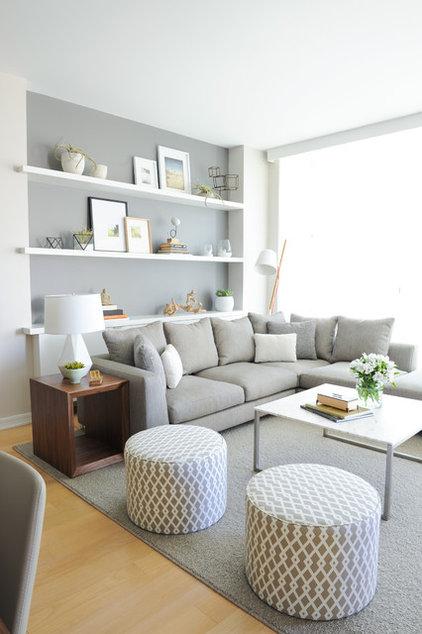 Scandinavian Living Room by Shift Interiors