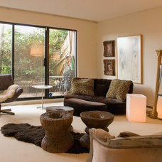 Eclectic Living Room by Heather Merenda