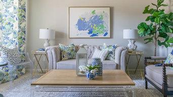 Family Friendly Formal Living Room