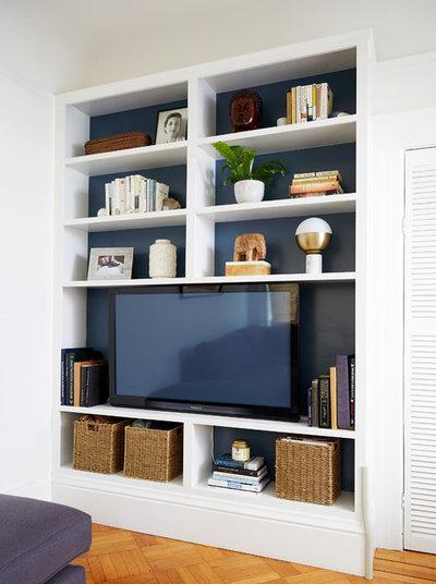 Transitional Living Room by Jill Cordner Interior Design