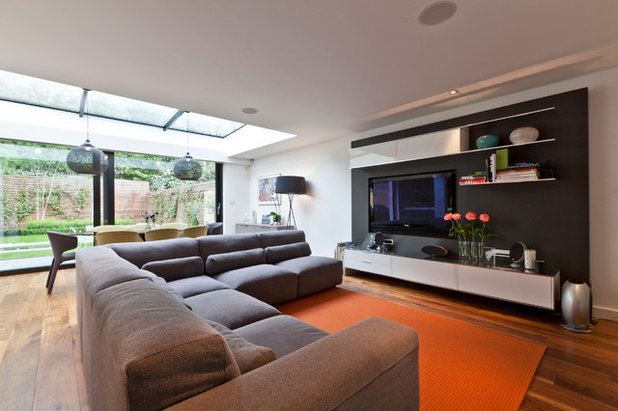 Contemporary Living Room by Clifton Interiors Ltd