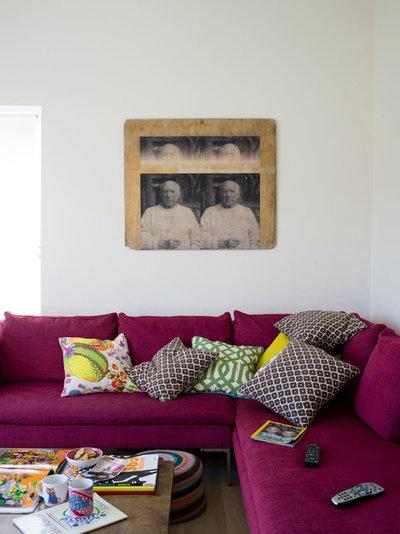 Eklektisk Dagligstue by Anna Standish Interiors