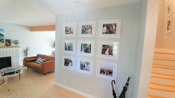 Family Photo Wall