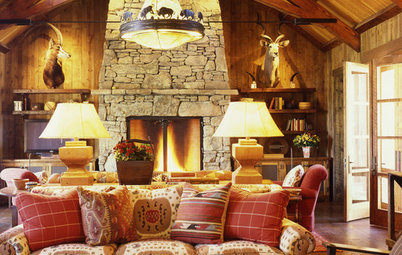 Houzz Tour: Woodsy Ranch Offers Sophisticated Comfort