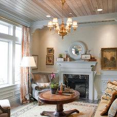 Tropical Living Room by Harman Wilde