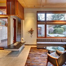 Modern Living Room by Alderson Construction