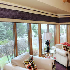 Modern Curtains by Beyond Blinds Inc