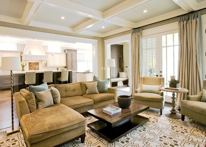 Contemporary Family Room by Brian Watford ID