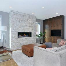 Modern Living Room by Bruce Johnson & Associates Interior Design