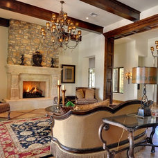 Mediterranean Family Room by Eagle Luxury Properties