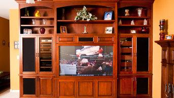 Family Room Entertainment Center