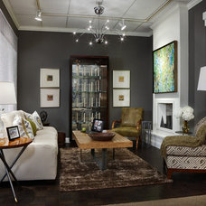 Contemporary Living Room by Margeaux Interiors - Margaret Skinner