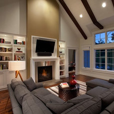 Traditional Living Room by H&H Design