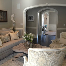 Traditional Living Room by Faux Home