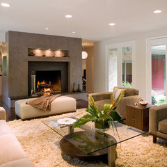 contemporary living room by Laurie S Woods ASID