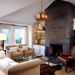 contemporary family room by Paul Rice Architecture