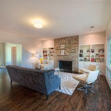 Modern Living Room by Watermark & Company