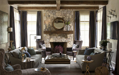 Room of the Day: Balancing Rustic and Glam in North Carolina