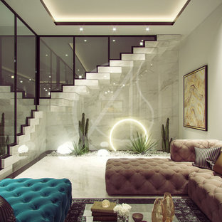 Family villa Contemporary Arabic Interior Design