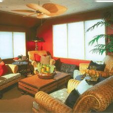 Tropical Living Room by 1STOPlighting