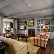 Farmhouse Living Room by DD Ford Construction, Inc
