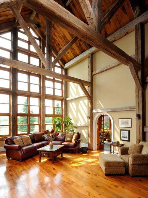 Rustic Wood Beams Houzz