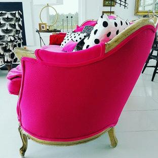 Farmhouse Custom French Provincial Sofa named Priscilla!-Design by Dawn D Totty