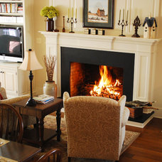 Traditional Living Room by The Bellepoint Company