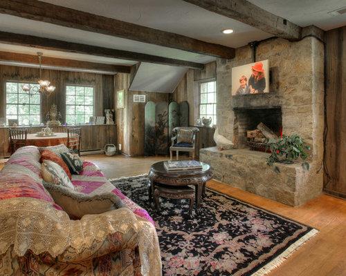 Farmhouse Living Room Houzz